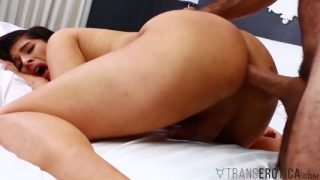 Alexa Scout almost cries when her hole is drilled